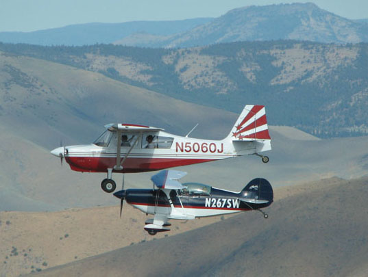 Our Decathlon and Pitts in action